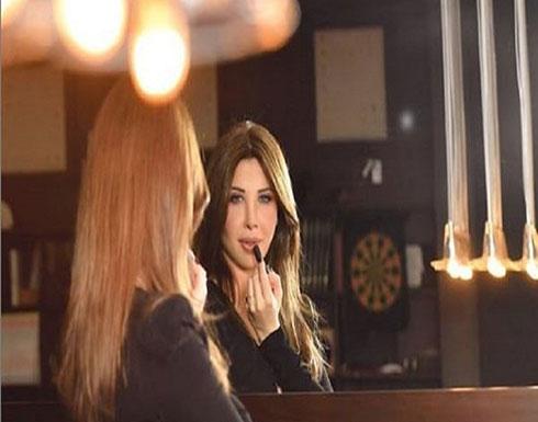 بالصور : نانسي عجرم تلبس الأسود!