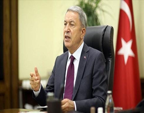 """وزير الدفاع التركي ونظيره البريطاني يبحثان """"شرق المتوسط"""" وليبيا"""