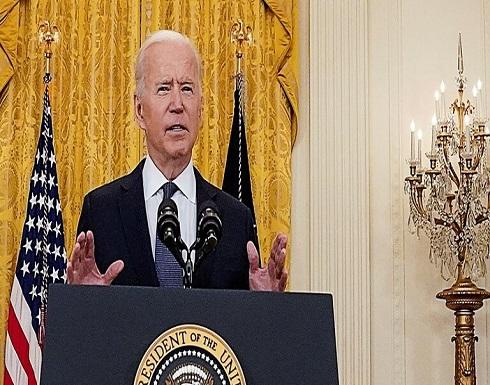 بايدن: أريد رؤية انخفاض كبير في الهجمات الصاروخية خلال أعمال العنف في الشرق الأوسط
