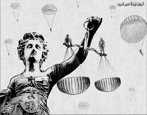الديمقراطية في عصر الحروب