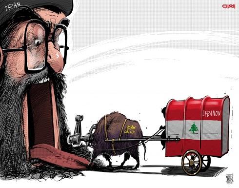 ابتلاع لبنان