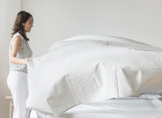 غيروا أغطية السرير مرة كل أسبوع وإلا..
