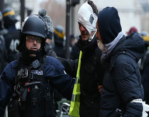 """توقيف 167 متظاهرا بباريس في الحراك التاسع لـ""""السترات الصفراء"""""""