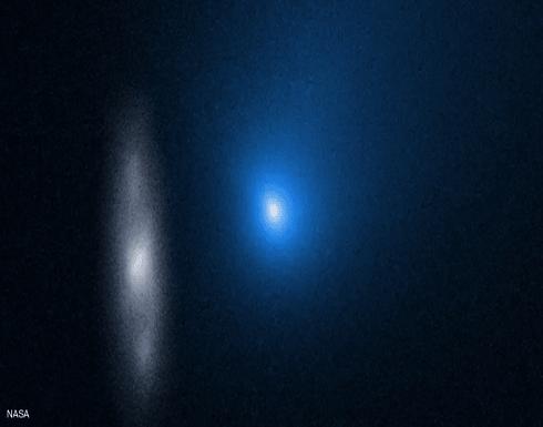 """""""ناسا"""" تنشر صورة مذهلة لجسم يدخل المجموعة الشمسية"""