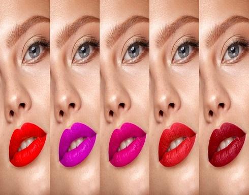 لااطالة شتاء مميزة اختاري احمر شفاء يناسب لون بشرتك