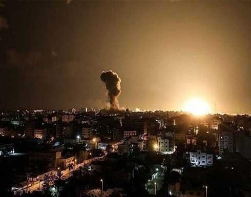 جديد غارات إسرائيل على دمشق.. 4 قتلى من حزب الله