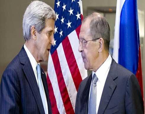 لافروف: زيارة جون كيري إلى موسكو قد يسهم في خفض التوتر وتطبيع الحوار بين البلدين