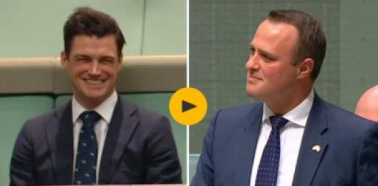 نائب استرالي يعرض الزواج على زميله أثناء جلسة للبرلمان… شاهد ماذا حدث!