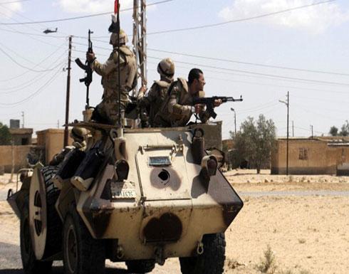 مقتل 5 أفراد من الجيش المصري في هجومين بشمال سيناء