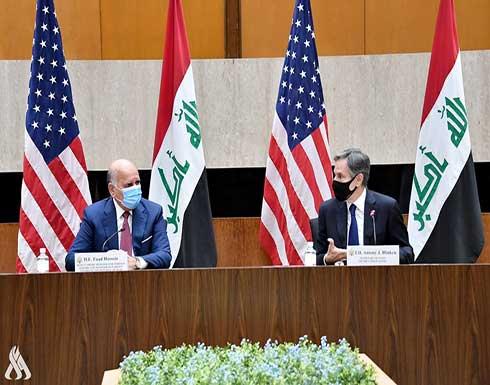 بيان أمريكي عراقي مشترك: الحكومة العراقية تؤكد التزامها بحماية أفراد التحالف الدولي