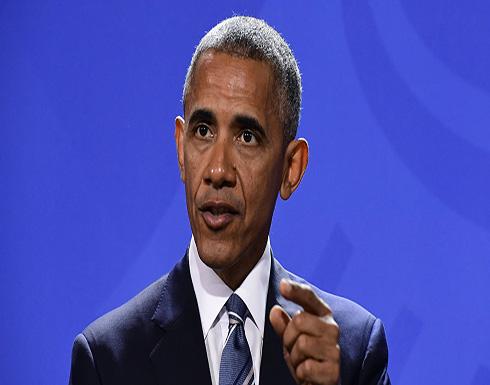 أوباما يقول المستوطنات الإسرائيلية تجعل حل الدولتين شبه مستحيل