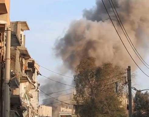 عشرات القتلى بغارات جوية على الأتارب بريف حلب