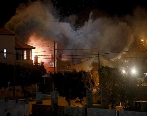 جيش الاحتلال يُفجر منزل الأسير قبها شمالي الضفة