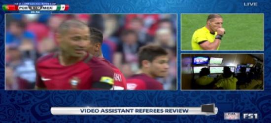شاهد: تقنية الفيديو تثير الجدل في كأس القارات
