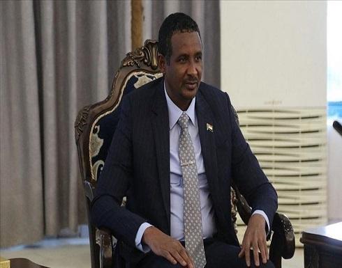 حميدتي والمشري يؤكدان أهمية تطوير التعاون بين السودان وليبيا