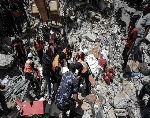 الصحة الفلسطينية: إسرائيل ارتكبت 19 مجزرة بحق عائلات بغزة