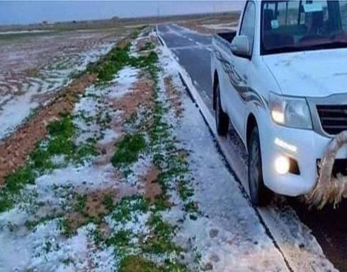 """عاصفة قطبية """"تاريخية ونادرة"""" وصلت مصر وبلاد الشام والسعودية وليبيا .. بالفيديو"""