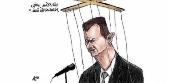 بشار الأسد يرفض أقامة مناطق أمنة
