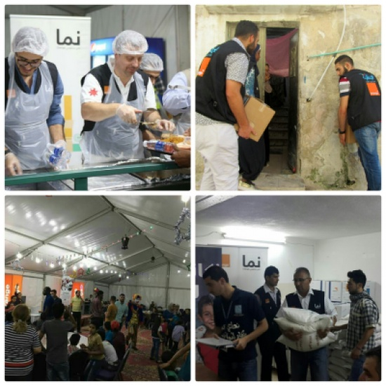 Orange الأردن تدعم عدّة مبادرات خيرية خلال شهر رمضان المبارك