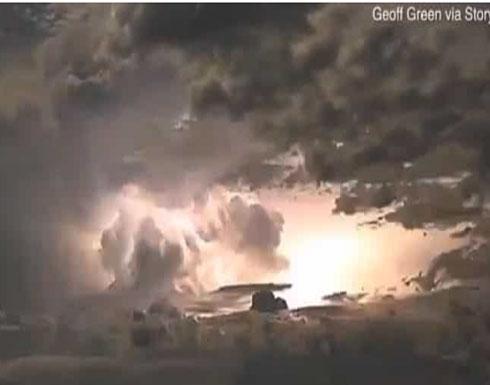 شاهد بالفيديو: ظاهرة لا تصدق.. عاصفة رعدية تضئ سماء منطقة كيمبرلي الأسترالية ليلاً!