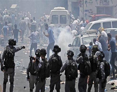 مواجهات بين فلسطينيين والاحتلال أثناء هدم منازل بالضفة