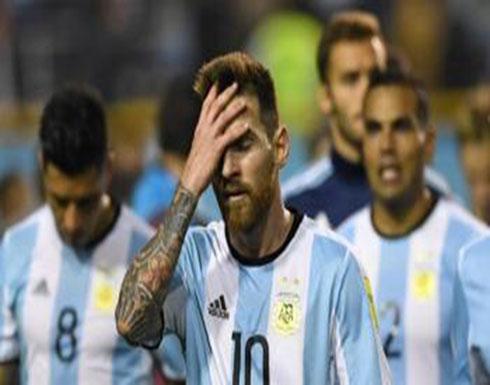 """إشادة فلسطينية بمنتخب الأرجنتين و""""البطاقة الحمراء"""" لإسرائيل"""
