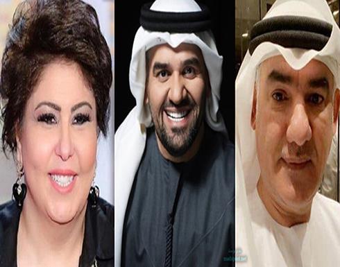هجوم غير مسبوق من شقيق حسين الجسمي على فجر السعيد والأخيرة ترد.. شاهد