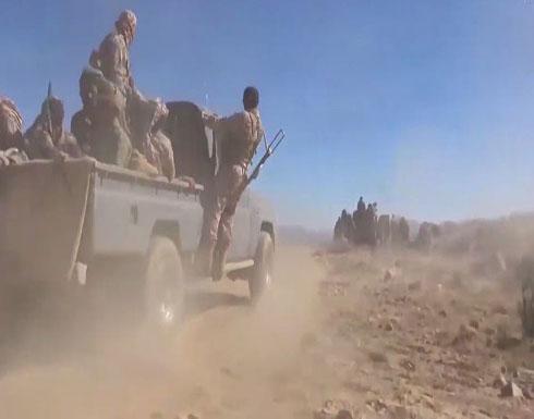 شاهد :الجيش اليمني يكسر هجوماً حوثياً شرق صنعاء