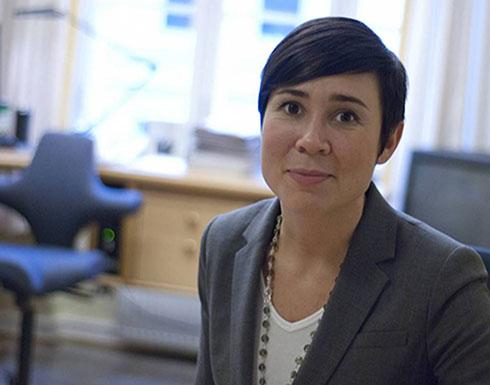 وزيرة خارجية النرويج: المستوطنات الإسرائيلية على الأراضي الفلسطينية غير مشروعة