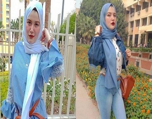 حنين حسام تخلع الحجاب في أول ظهور بعد إخلاء سبيلها.. فيديو