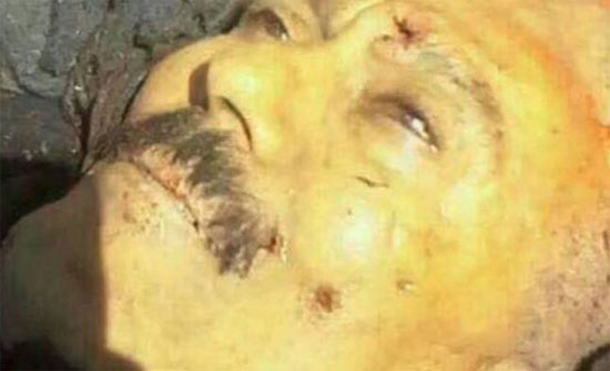 ثلاثون رصاصة اخترقت جسد علي عبدالله صالح