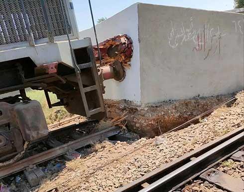 مصر.. تصادم قطار برصيف محطة وسقوط جرحى