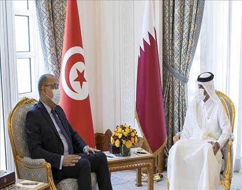 رئيسا وزراء قطر وتونس يبحثان تعزيز العلاقات