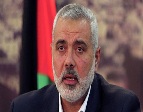 """مصدر فلسطيني: جولة خارجية لـ""""هنية"""" تنتظر الموافقة المصرية"""