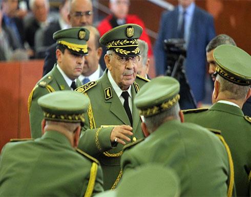 شاهد : آخر ظهور لقائد الجيش الجزائري الراحل أحمد قايد صالح