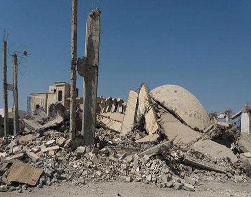 """التحالف الدولي يقصف مسجدا بدير الزور بذريعة قتال """"داعش"""""""