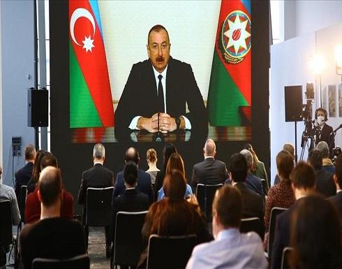 رئيس أذربيجان: سنستورد أحدث الأسلحة من تركيا