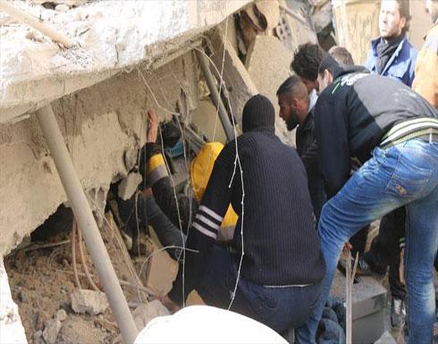 الخوذ البيضاء: النظام قتل ألفًا و337 مدنيًا بغوطة دمشق في 2017