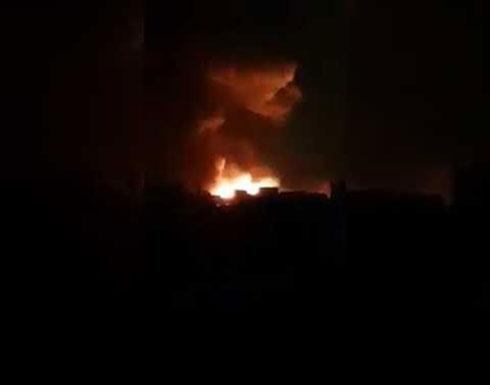 بالفيديو : إسرائيل تعلن شن غارات على جنوب سوريا ودمشق تعلن تصديها