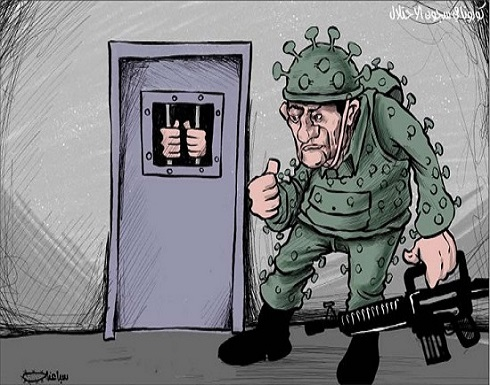 كورونا في سجون الاحتلال