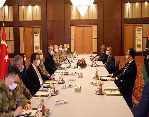ليبيا وتركيا تؤكدان استمرار التنسيق المشترك ضد عدوان حفتر