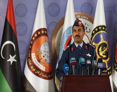"""بالفيديو : إيجاز صحفي للناطق الرسمي باسم الجيش الليبي عقيد طيار """"محمد حسن قنونو"""""""
