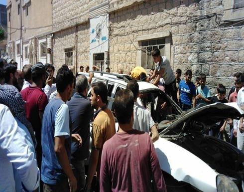 """سوريا.. مقتل ضابط في """"الشرطة الحرة"""" في مدينة الباب بعبوة ناسفة .. بالفيديو"""