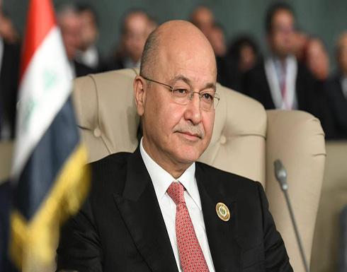 الرئيس العراقي يلتقي بالممثلة الخاصة للأمين العام للأمم المتحدة في العراق