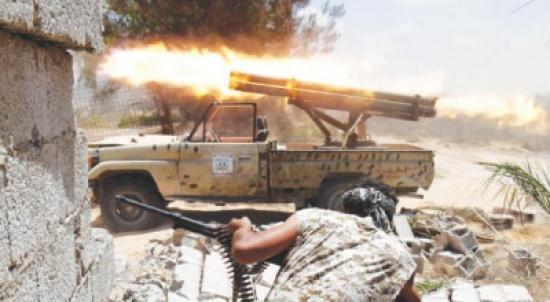 14 قتيلا من قوات حكومة الوفاق الليبية في معارك في سرت