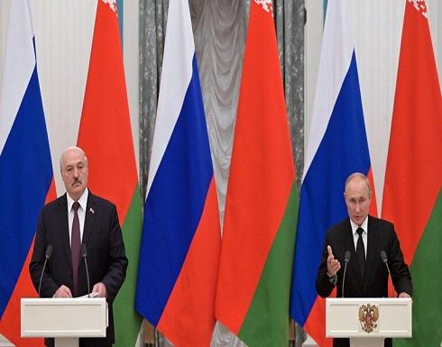 بوتين ولوكاشينكو يبحثان توحيد الفضاء الدفاعي بين روسيا وبيلاروس