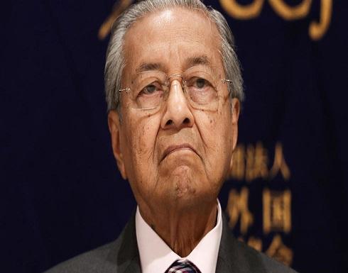 مهاتير محمد يقترح حكومة وحدة في ماليزيا في أول تعليقات له منذ استقالته