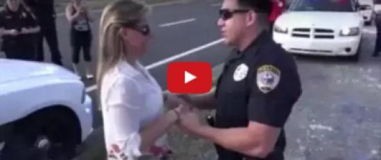 فيديو| شاهد ماذا حدث لضابط تقدم لخطبة صديقته بشكل غير قانوني!