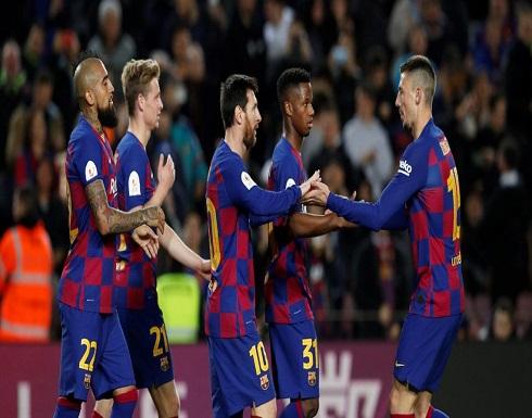 ظهور أول حالة كورونا في  نادي برشلونة
