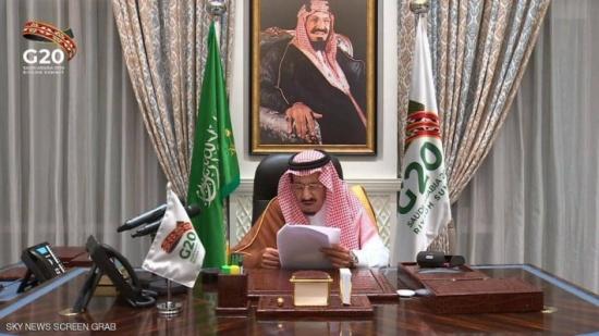 العاهل السعودي: ندعو دول العالم للتصدي للتغير المناخي